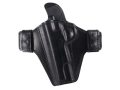 Bianchi Consent Outside the Waistband Holster Left Hand 1911 Leather Black