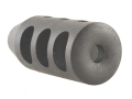 "Holland's Quick Discharge Muzzle Brake 1/2""-28 Thread .530""-.575"" Barrel Tapered Chrome Moly"
