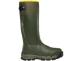"LaCrosse Alphaburly Pro 18"" Waterproof 800 Gram Insulated Hunting Boots Rubber Clad Neoprene Forest Green Men's 7 D"