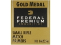 Federal Premium Gold Medal Small Rifle Match Primers #205M Case of 5000 (5 Boxes of 1000)