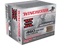 Winchester Super-X Ammunition 460 S&W Magnum 250 Grain Jacketed Hollow Point Reduced Recoil Box of 20