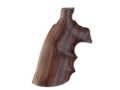 Hogue Fancy Hardwood Grips with Finger Grooves Colt Trooper Mark III Rosewood