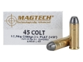 Magtech Cowboy Action Ammunition 45 Colt (Long Colt) 200 Grain Lead Flat Nose Box of 50