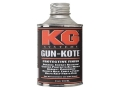 Product detail of KG Gun Kote 2400 Series Satin Black 8 oz
