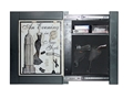 Willa-Hide Hidden Memories Picture Frame Security Cabinet Black