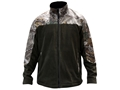 MidwayUSA Men's Softshell Fleece Jacket Polyester Woodland Green and Realtree Xtra Camo XL