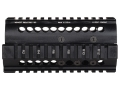 Midwest Industries 2-Piece Handguard Quad Rail Galil, Century Golani Sporter Aluminum Black