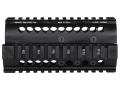 Midwest Industries 2-Piece Handguard Quad Rail Galil, Century Golani Sporter Aluminum Black