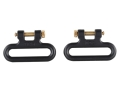 Product detail of The Outdoor Connection Titan Q-R Detachable Sling Swivels 1-1/4&quot; Stainless Steel Black (1 Pair)