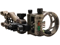 "TRUGLO Carbon Hybrid Micro Adjust 5 Pin Bow Sight .019"" Diameter Pins"