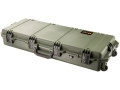 "Pelican Storm Single M4 & M9 iM3100 Pistol Gun Case with Pre-Scored Foam Insert 39-4/5"" x 16-1/2"" x 6-3/4"" Polymer Olive Drab"