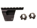 "Product detail of B-Square Military Weaver-Style Scope Base with 1"" Rings AK-47 and MAK-90 Receiver Mount Gloss"