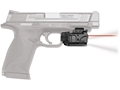 Crimson Trace Rail Master Pro Red Laser/White LED Light Combo with Universal Rail Mount Polymer Black