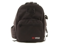 CED Shooter&#39;s Backpack Range Bag Nylon Black