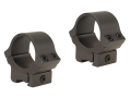 B-Square 1&quot; Sport Utility 22 Rimfire and Airgun Rings Low Matte