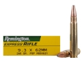 Product detail of Remington Express Ammunition 9.3x62mm Mauser 286 Grain Pointed Soft Point Box of 20