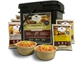 Wise Food 56 Serving Breakfast and Entree Grab & Go Freeze Dried Food Kit