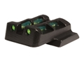 HIVIZ LITEWAVE Rear Sight S&W M&P Steel Fiber Optic Red, Green, Black
