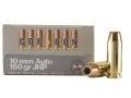 Cor-Bon Self-Defense Ammunition 10mm Auto 150 Grain Jacketed Hollow Point Box of 20