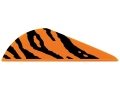 "Bohning Tiger Stripe Blazer Vane Arrow Fletching 2"" Neon Orange and Black Pack of 36"