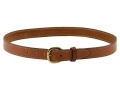 "Hunter 5800 Pro-Hide Belt 1-1/4"" Brass Buckle Leather Brown 40"""