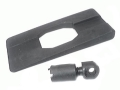 Harris Bipod Adapter Stud Spacer #8 Remington XP-100 Black