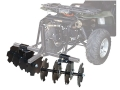 Product detail of Kolpin DirtWorks ATV 54&quot; Disc Plow with 2 Boxes Steel Black