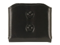 Product detail of Galco DMC Double Magazine Pouch 45 ACP, 10mm Single Stack Magazines Leather Black