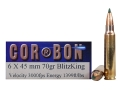 Product detail of Cor-Bon Self-Defense Ammunition 6x45mm 70 Grain Sierra BlitzKing Polymer Tip Box of 20