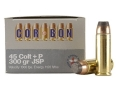 Cor-Bon Hunter Ammunition 45 Colt (Long Colt) +P 300 Grain Jacketed Soft Point Box of 20