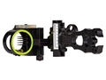 "Black Gold Pure Adrenalin 75 Micro Adjust 5-Pin Slider Bow Sight .019"" Diameter Pins Right Hand Black"