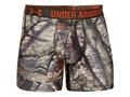 "Under Armour Men's 6"" Camo Boxerjock Underwear Synthetic Blend"