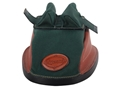 Edgewood Original Rear Shooting Rest Bag Short with Bunny Ears and Shehane Stitch Width Leather and Nylon Green Unfilled