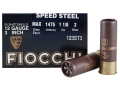 "Fiocchi Speed Steel Ammunition 12 Gauge 3"" 1-1/8 oz #3 Non-Toxic Steel Shot Case of 250 (10 Boxes of 25)"