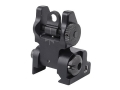 PRI Flip-Up Rear Sight AR-15 Flat-Top Aluminum Matte