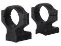 "Remington 2-Piece Scope Mounts with Intergral 1"" Rings Remington 700 Matte Medium"