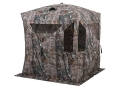 Product detail of Ameristep Bone Collector Ground Blind 75&quot; x 75&quot; x 69&quot; Polyester Realtree AP Camo