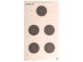 NRA Official Smallbore Rifle Target A-26 50-Meter Prone Paper Package of 100