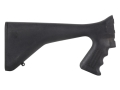 Product detail of Choate Mark 5 Pistol Grip Buttstock Youth Ithaca 37 Synthetic Black
