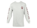"Beretta Double Logo Shirt Long Sleeve Cotton White Medium ( 38"" to 40"")"