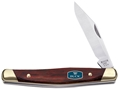 "Buck 302 Solitaire Folding Knife 2-7/8"" Clip Point 420HC Stainless Steel Blade Rosewood Handle"