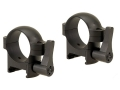 Burris 1&quot; Quick-Release Weaver-Style Rings Matte Low