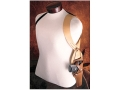 Hunter 67-99 Shoulder Harness Right Hand Converts Snap-Off Belt Holster to Shoulder Carry Leather Brown