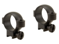 Burris 1&quot; Deluxe Rings 22 Rimfire Steel Matte Medium