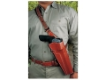 "DeSantis Terminator Shoulder Holster Right Hand S&W X-Frame 460, 500 8-3/8"" Barrel Leather Tan"
