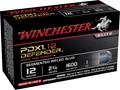 "Winchester Supreme Elite Self Defense Ammunition 12 Gauge 2-3/4"" 1 oz PDX1 Segmenting Slug Box of 10"