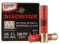Winchester AA Super Sport Sporting Clays Ammunition 410 Bore 2-1/2&quot; 1/2 oz #7-1/2 Shot