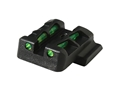 HIVIZ LITEWAVE Rear Sight S&W M&P Shield Steel Fiber Optic Red, Green, White