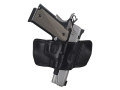 Ross Leather Belt Slide Holster Right Hand S&W M&P Leather Black