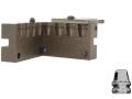 Saeco 4-Cavity Bullet Mold #065 45 Caliber (452 Diameter) 180 Grain Semi-Wadcutter Bevel Base
